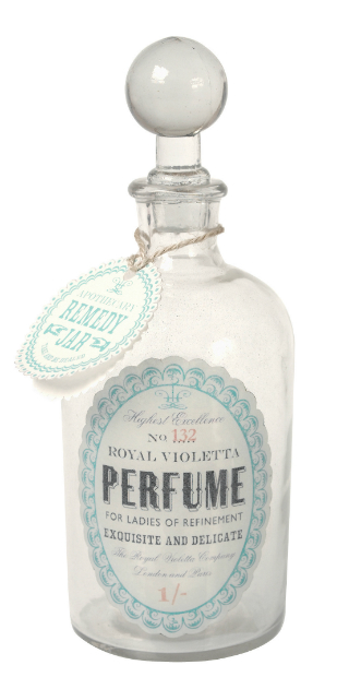 Glass Apothecary Bottle Perfume, dotcomgiftshop