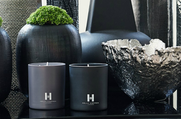 Scent One Black Candle, Kelly Hoppen Home