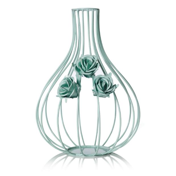 Floral Mint Wire Vase, Oliver Bonas £16.00