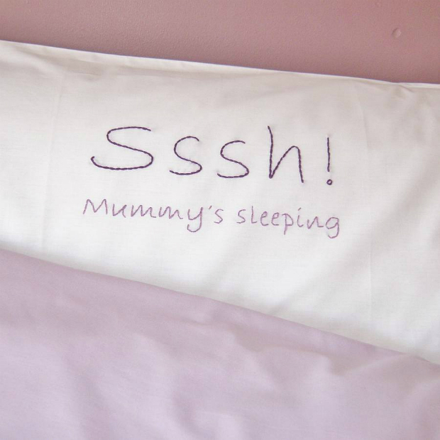 Sssh! Mummy's Sleeping Pillowcase, Not on the High Street