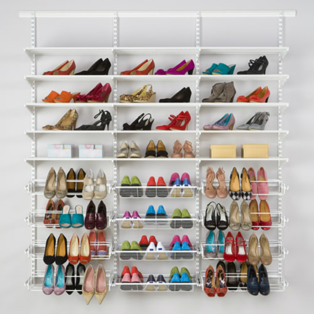 Elfa Shoe Storage Solution, A Place for Everything £596.00