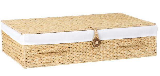 Water Hyacinth Underbed Basket, John Lewis £60.00