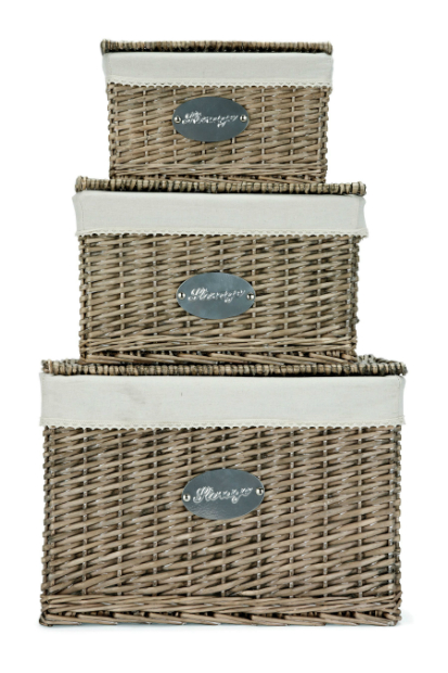 Natural Wicker Trunks, Next £50.00