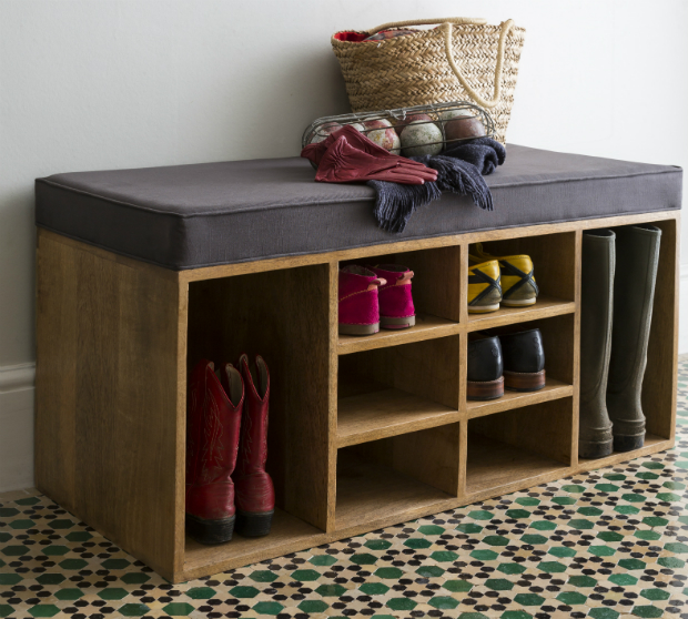 Shoe storage bench, Alison at Home £245.00