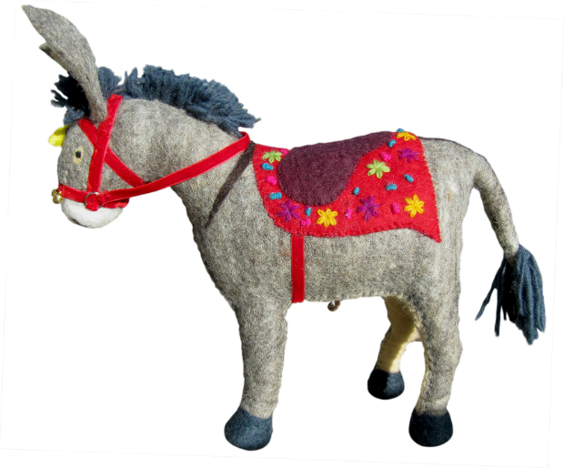 Violet Donkey, Berry Red £65.00