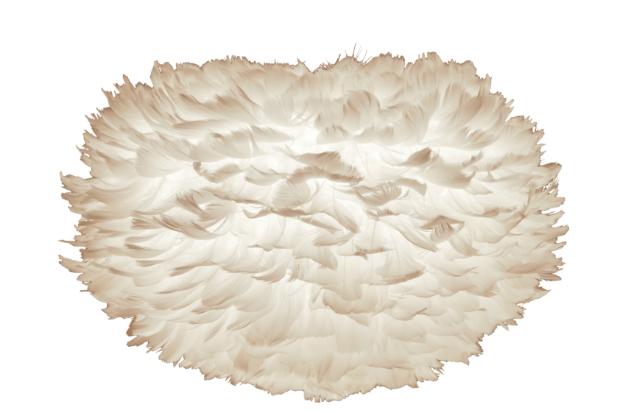 Vita Eos Feather Pendant Shade, Black by Design £70.00