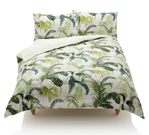 Palm Leaf Bedset, Marks and Spencer £39.50 - £69.00