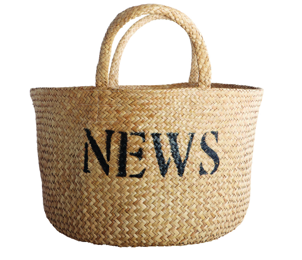 News Storage Basket, Drift Living £34.00