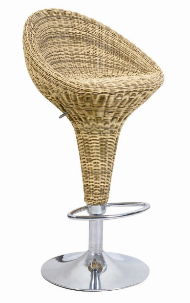 Enduro Hessian Bar Stool, Wayfair
