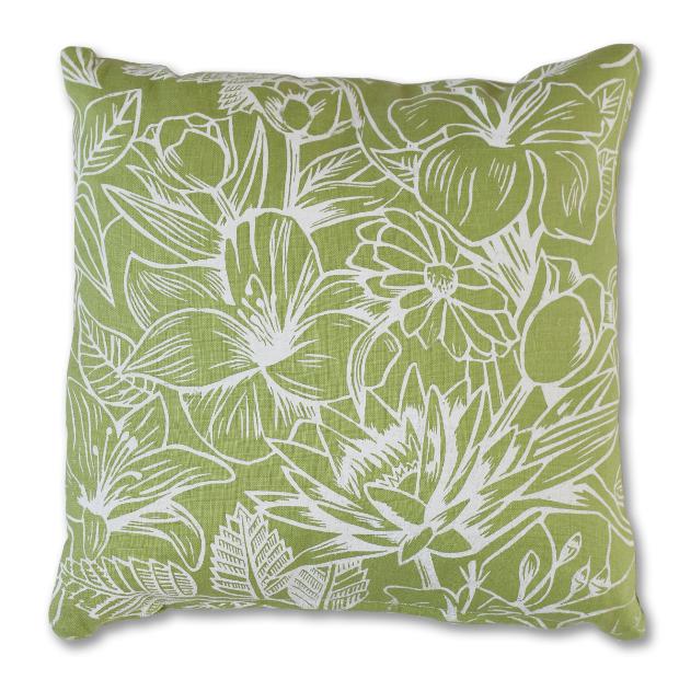 Floral Screenprint Cushion, Great British Designs £45