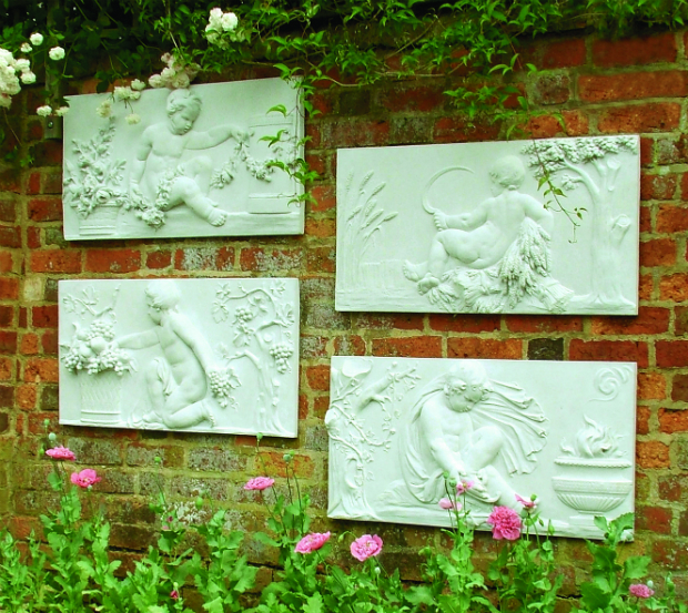 Clifton Coade Seasons Wall Plaques, Haddonstone £239.00