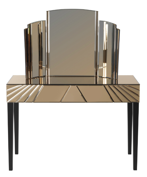 BIBA Toulouse Dressing Table £499 and Mirror £199, House of Fraser