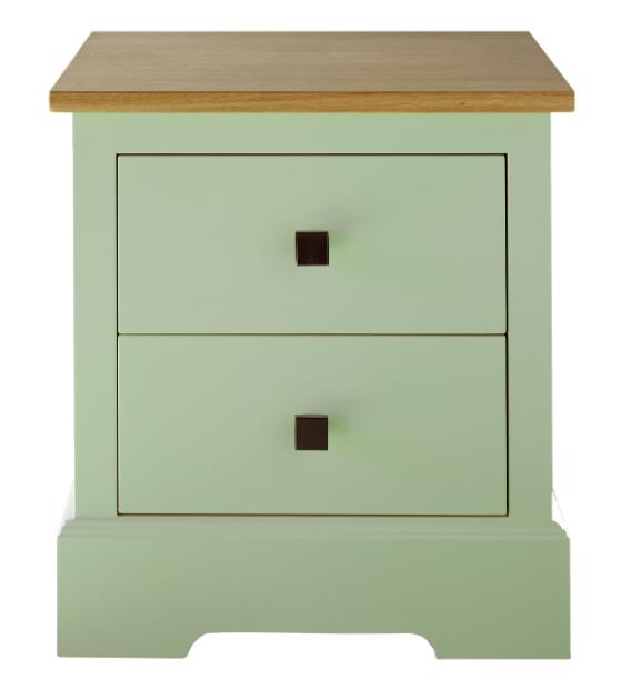 Shaker 2 drawer bedside cabinet, ohn Lewis of Hungerford £495.00