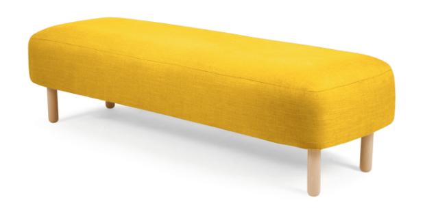 Jonah Upholstered Bench, Made £249.00