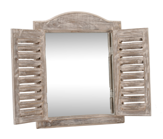 Louvered Arch Top Mirror, MyGiftTree.com £22.99