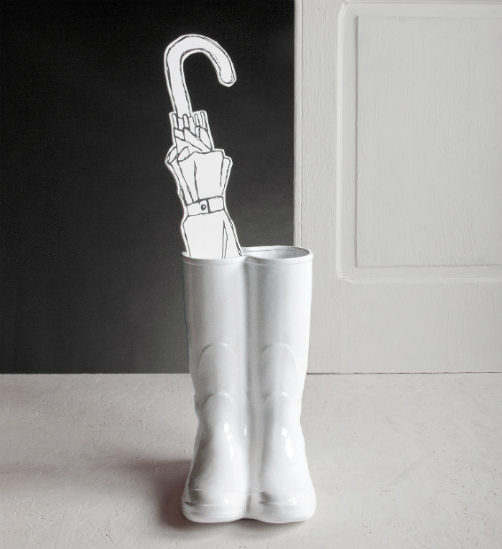 Wellies Umbrella Stand, Out There Interiors £95.00