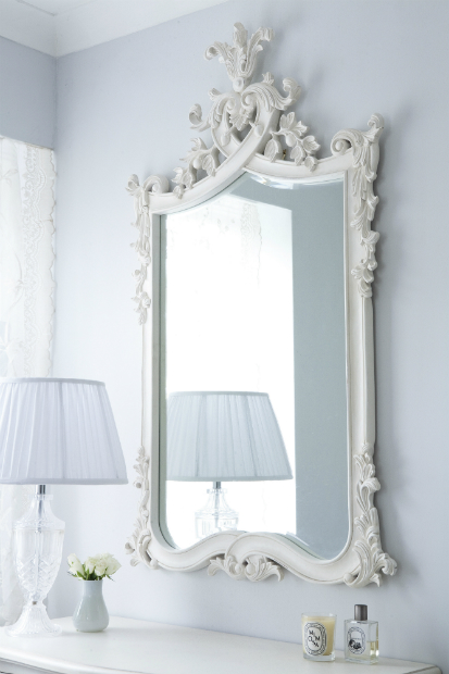 Provencal Heart Top French Mirror, French Bedroom Company £395.00
