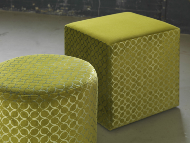 Bella & Solida Stools in Circo Moss Green, TheVelvetLab £193.00