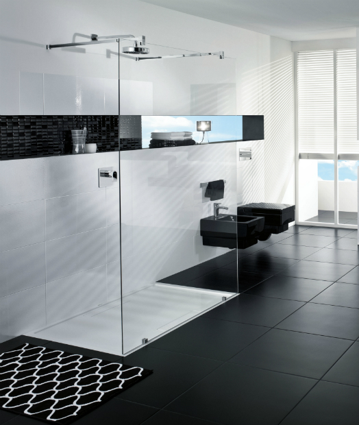 Futurion walk–in shower, Villeroy & Boch £1966.80