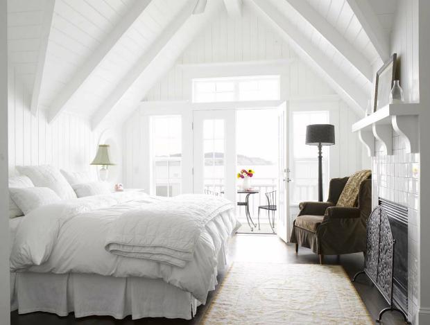 White Bedroom, CocoCozy