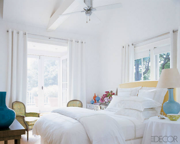 SJP Bedroom via Elle Decor