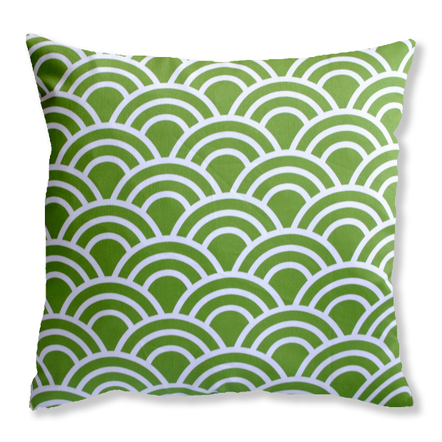 Green Fan Cushion, Hunkydory Home £28.00