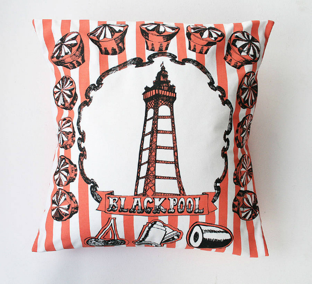 Blackpool Cushion, Not on the High Street £38.50