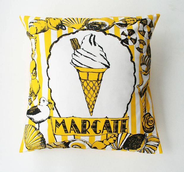 Margate Cushion, Not on the High Street £38.00