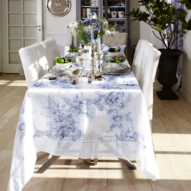 Lene Bjerre Adeline Rose Runner Blue, Occa-Home £29.00