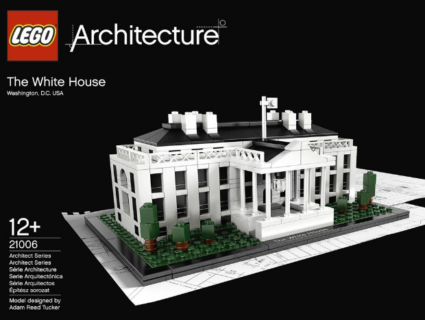 LEGO Architecture 21006: The White House, Amazon £39.49