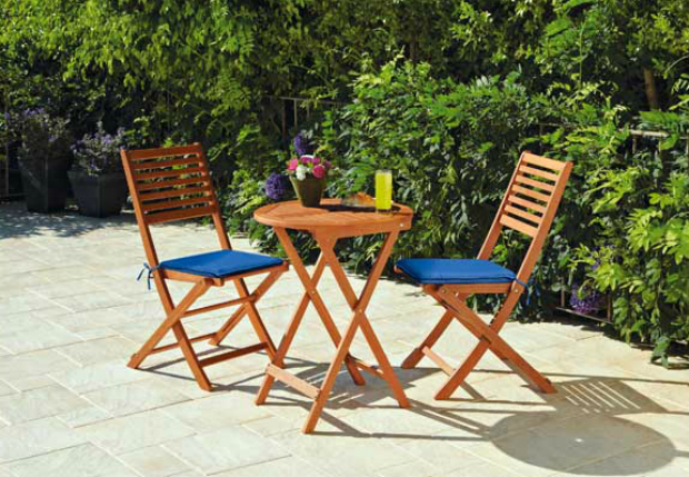 Henley 2 Seater Bistro Garden Table and Chairs Set, Argos £45.00