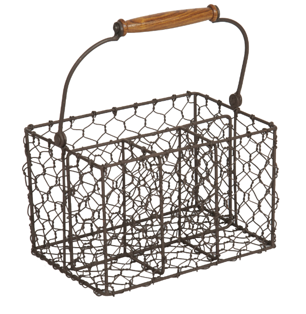 Metal Cutlery Holder, Boutique Provencale £22.75