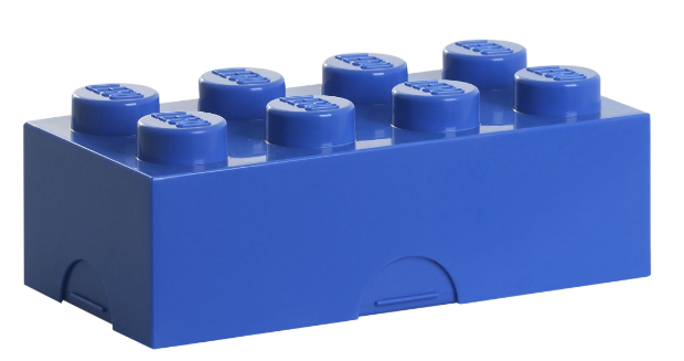 LEGO Lunch Box Blue, Ellie Ellie £14.00