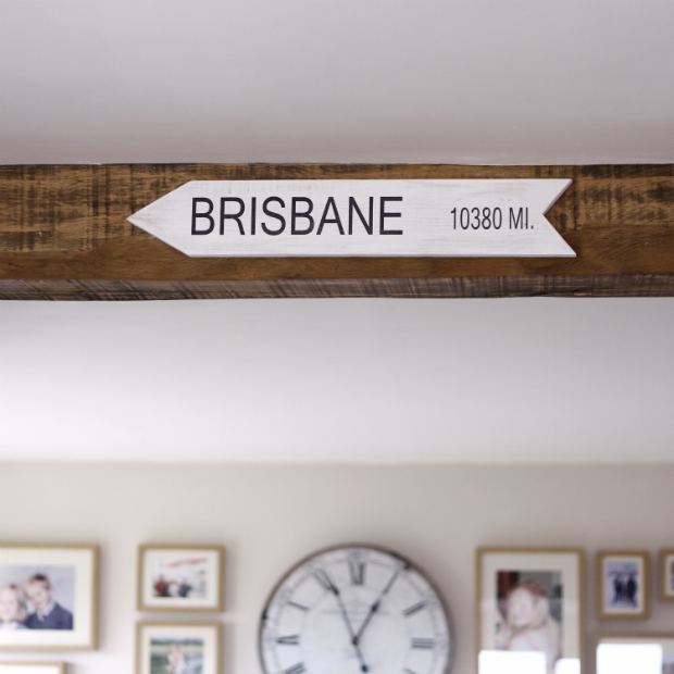 Personalised Distance Location Sign, Jonny's Sister £30.00