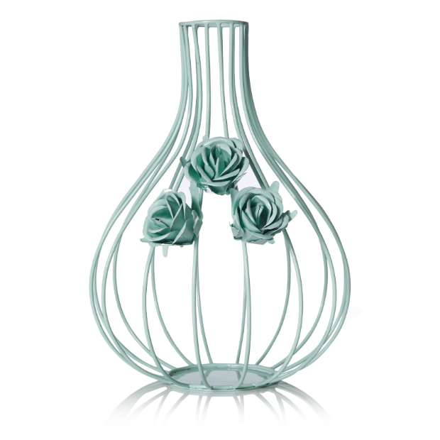 Wire floral Mint Vase, Oliver Bonas £16.00