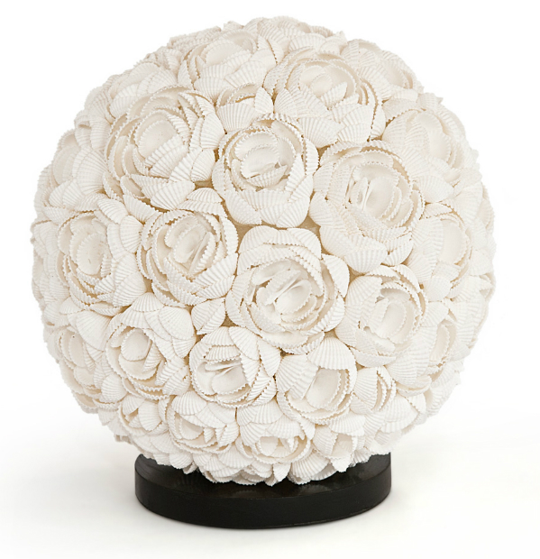 Rose Shell Ball Lamp, Puji £110.00