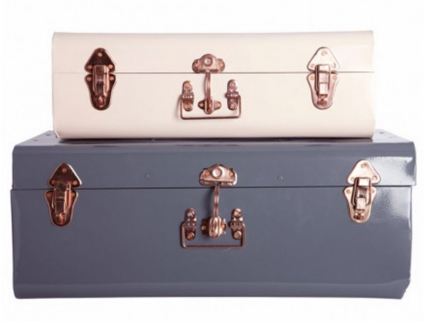 Metal Storage Trunks, Idyll Home £89.00