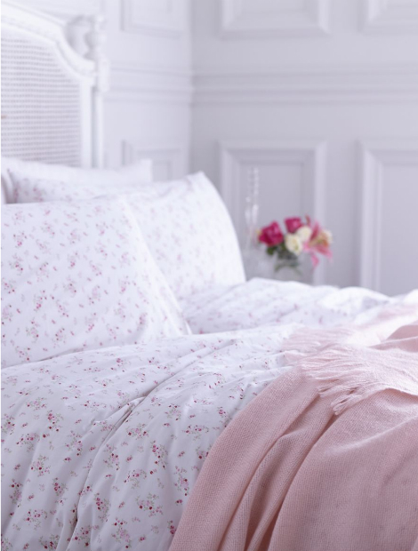 Shabby Chic Maiden rose duvet set, House of Fraser from £30.00 - £50.00