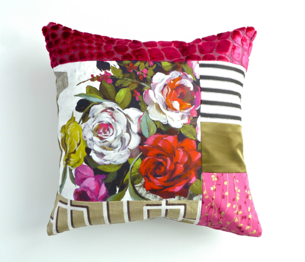 Rose Cushion by Suzy Newton £84.00