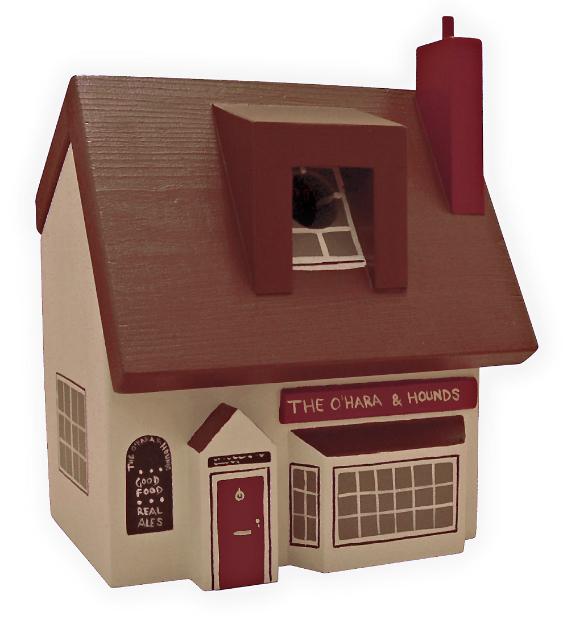 Personalised Pub Bird Box, Swanky Maison £59.00