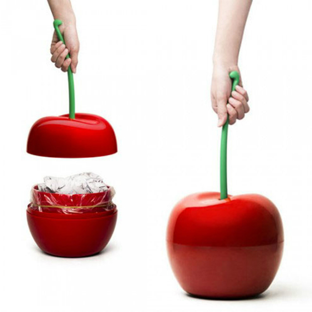 Qualy Cherry Bin, The Gift Oasis £34.99