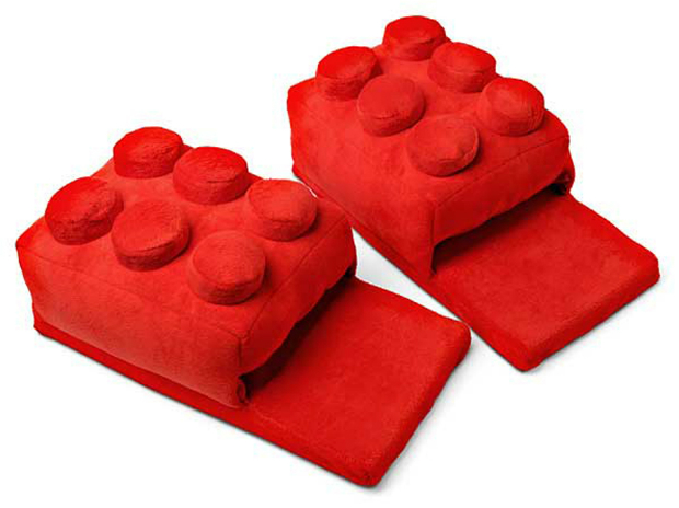 Building Brick Slippers, The Gift Oasis £21.99