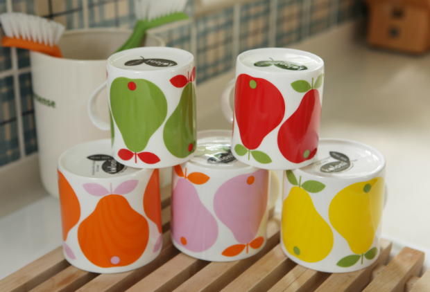 Koloni Stockholm Apple & Pear Mugs, The Scandinavian Shop £9.50