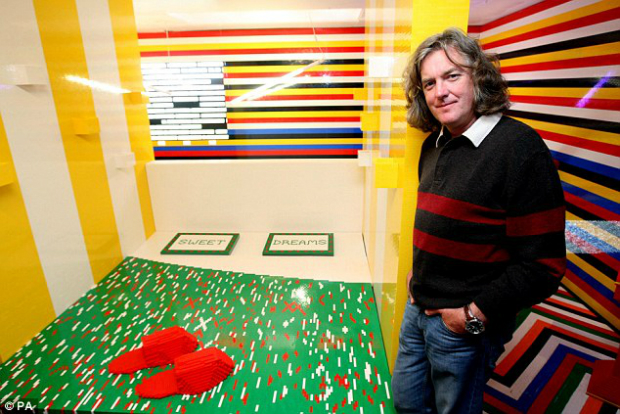James May and the Lego Bedroom