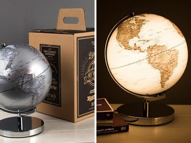 Illuminated Globe, Getting Personal £74.99