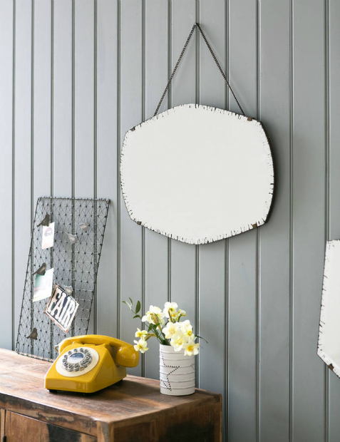 Curved Deco Mirror, Not on the High Street £75.00