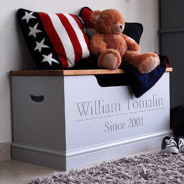 Personalised Toy Box Or Storage Chest, Not on the High Street £350.00