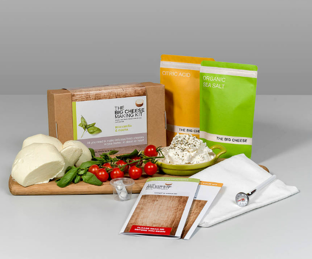 Mozzarella And Ricotta Cheese Making Kit, Not on the High Street £23.00