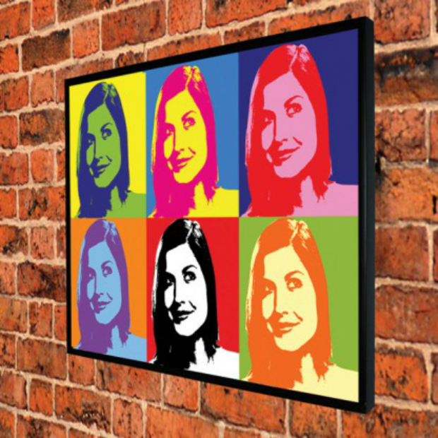 Personalised Pop Art Print Gift Tin £34.99