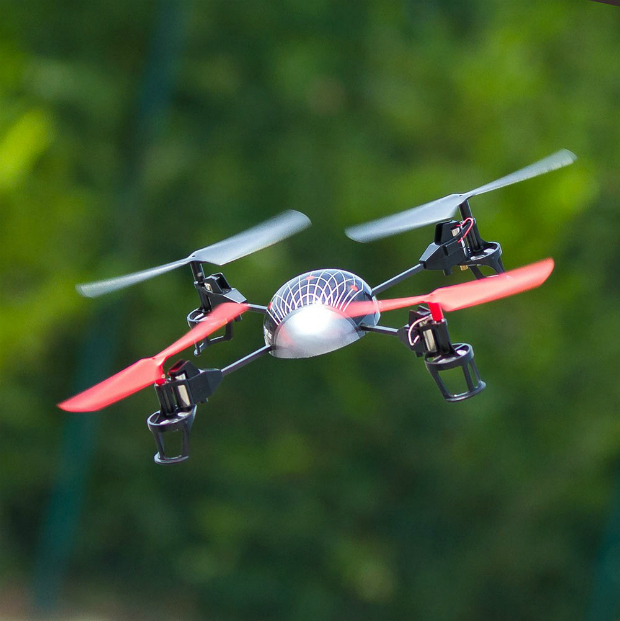Quadcopter with LEDs, RED5 £54.95